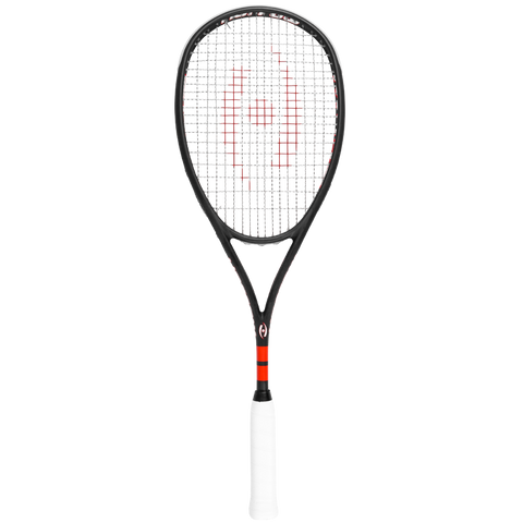 Harrow M-140 Squash Racquet - Black/Red