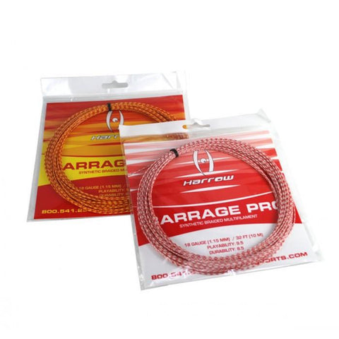 Barrage Pro Squash String - 18 Gauge - Single Pack