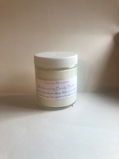 4 oz vanilla Lavender body butter