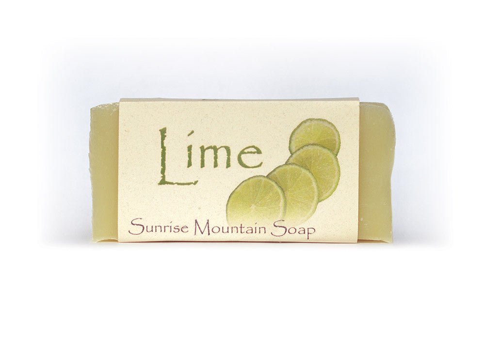 Lime Handmade Soap