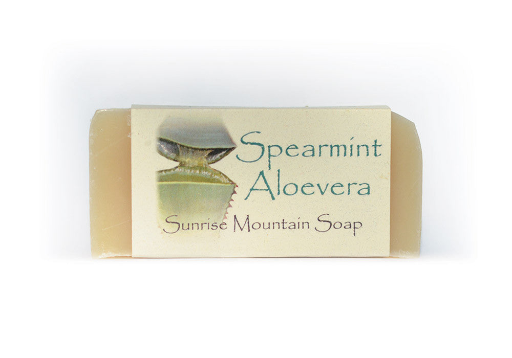 Spearmint Aloevera Handmade Soap