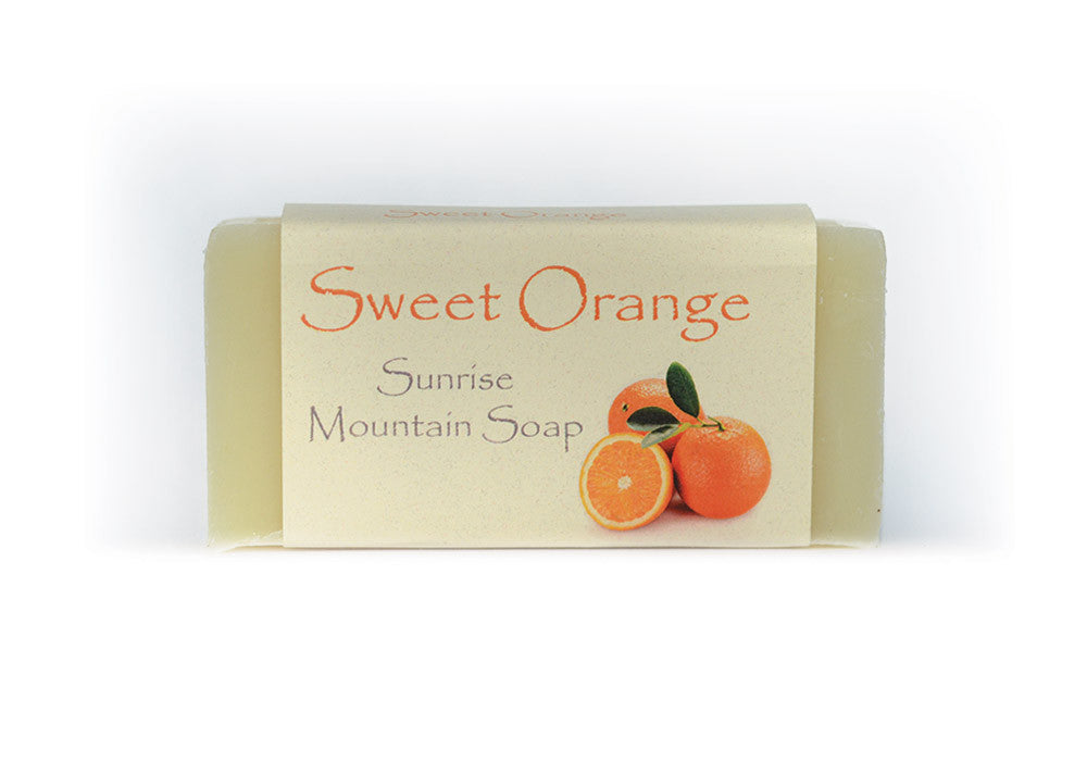 Sweet Orange Handmade Soap
