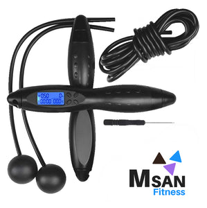 MSAN Fitness Electronic Skipping Rope with Fitness Tracker