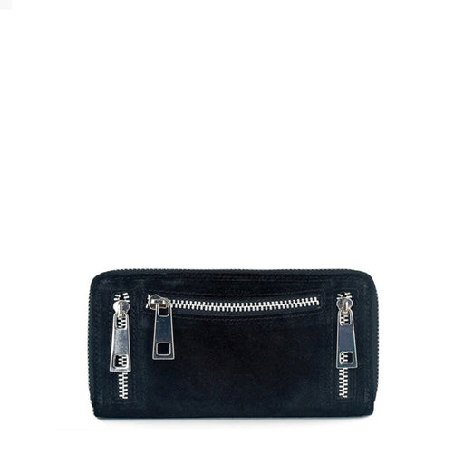 Núnoo 107 new suede Wallet Black
