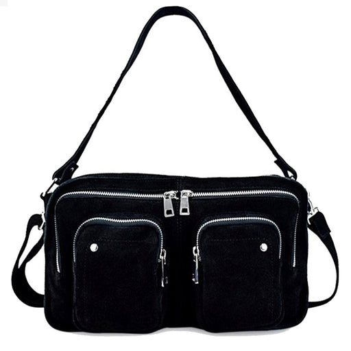Núnoo Alimakka new suede Crossbody Black