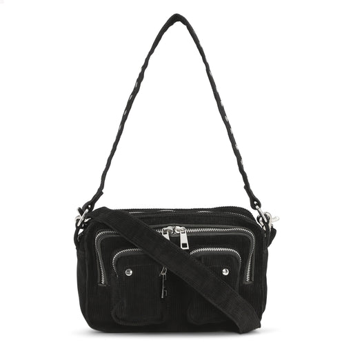 Núnoo Ellie corduroy black Crossbody Black
