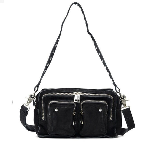 Núnoo Ellie new suede Crossbody Black