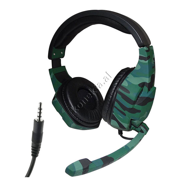 KUFJE GAMING ME FISHE 3.5mm ME SUPER BASS TUCCI A3 CAMOUFLAGUE