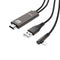 KABELL ADAPTOR LIGHTNING NE HDMI FULL HD 1080p 2m HOCO UA14