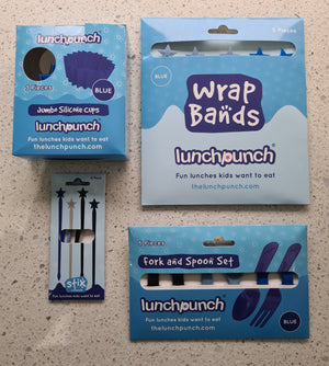 Lunch Punch accessories - Blue