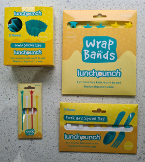 Lunch Punch accessories - Yellow