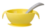 B Box - Silicone Bowl and Spoon - Lemon
