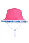 SUN EMPORIUM BRIM HAT WITH FRILLS
