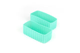 BENTO CUPS RECTANGLE - MINT