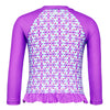 CUPID GIRL - LILO LONG SLEEVE FRILL RASH VEST