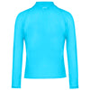 CUPID GIRL - STEPPING STONES BLUE LONG SLEEVE ZIP RASH VEST