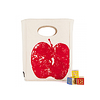 FLUF - APPLE LUNCH BAG CERTIFIED ORGANIC COTTON