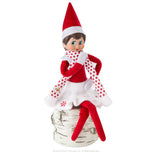 ELF ON THE SHELF CLAUS COUTURE COLLECTION - SNOWFLAKE SKIRT AND SCARFE