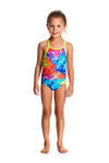 FUNKITA - TODDLER GIRLS PRINTED ONE PIECE - LAYER CAKE