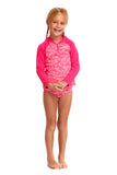 FUNKITA TODDLER GIRLS RASH SHIRT - PAINTED PINK