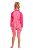 FUNKITA - TODDLER GIRLS PRINTED ONE PIECE GO JUMPSUIT - PAINTED PINK