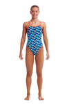 FUNKITA - GIRLS DIAMOND BACK ONE PIECE - TOUCHE