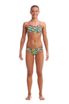 FUNKITA - GIRLS ECO RACER BACK TWO PIECE - TOUCAN DO IT