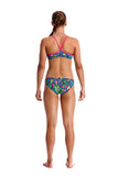 FUNKITA - GIRLS RACER BACK TWO PIECE - FEATHER FIESTA