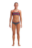 FUNKITA - GIRLS RACER BACK TWO PIECE - FIRE TRIBE