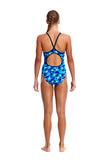 FUNKITA - GIRLS DIAMOND BACK ONE PIECE - ICE FORTRESS