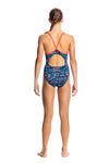 FUNKITA - GIRLS DIAMOND BACK ONE PIECE - LOTSA DOTS