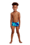 FUNKY TRUNKS - TODDLER BOYS PRINTED TRUNKS - HAWAIIAN SKIES