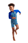FUNKY TRUNKS - TODDLER BOYS PRINTED ECO GO JUMP SUIT - TOUCHE