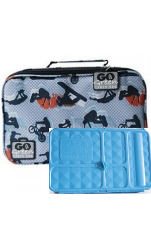 GO GREEN ORIGINAL LUNCH BOX SET - EXTREME SPORTS