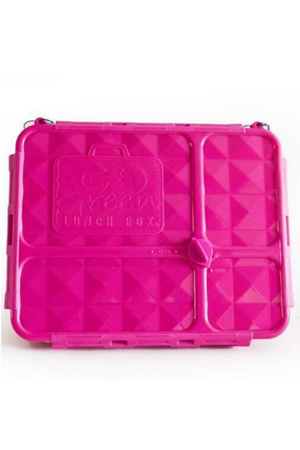 GO GREEN MEDIUM LUNCH BOX - PINK