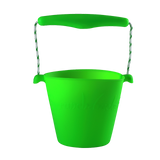 silicone-bucket-neon-green