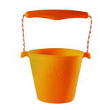 silicone-bucket-neon-orange