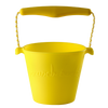 silicone-bucket-neon-yellow