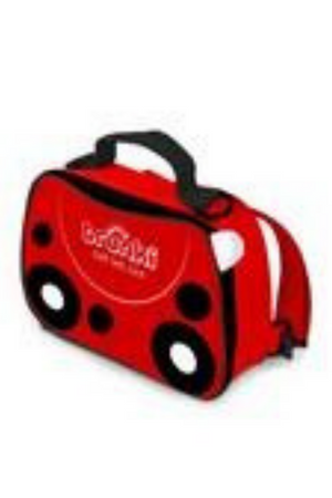 TRUNKI - 2 IN 1 LUNCH BAG BACKPACK - RED