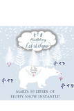 HUCKLEBERRY - LET IT SNOW 10 LITRE PACKET