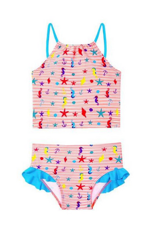 CUPID GIRL - BEACH BUDDIES TUTU TANKINI SET