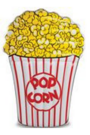 EXECUTIVE CONCEPTS - POPCORN GIANT POOL FLOAT