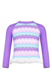 CUPID GIRL - ZIGGY LONG SLEEVE FRILL RASH VEST