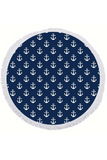 EXECUTIVE CONCEPTS - ANCHOR ROUND TOWEL