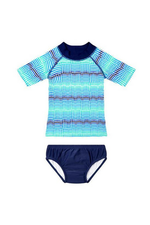 WAVE RAT - TIDAL WAVE RASHIE AND SWIM NAPPY SET