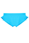CUPID GIRL - STEPPING STONES BLUE FRILL SWIM NAPPY