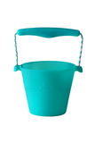 SILICONE BUCKET TEAL