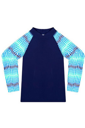 WAVE RAT - TIDAL WAVE LONG SLEEVE RASH VEST