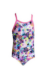 FUNKITA - TODDLER GIRLS PRINTED ONE PIECE - WATER GARDEN