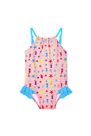 CUPID GIRL - BEACH BUDDIES TUTU ONE PIECE